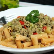 köttfärsgryta curry paprika broccoli