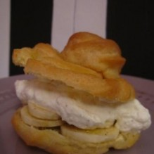 Bananfyllda petit-chouxer