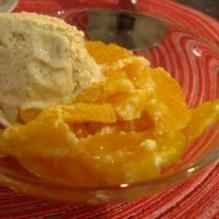 Citrusgino med hemlagad vaniljglass