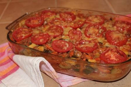 Köttfärs- potatisgratäng