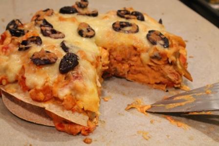 Tårtbit tortillatårta