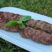 Libanesiska köttfärsspett