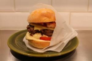 Flippin Burger i smörpapper