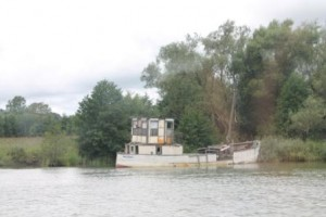 Båten Modig från Stockholm