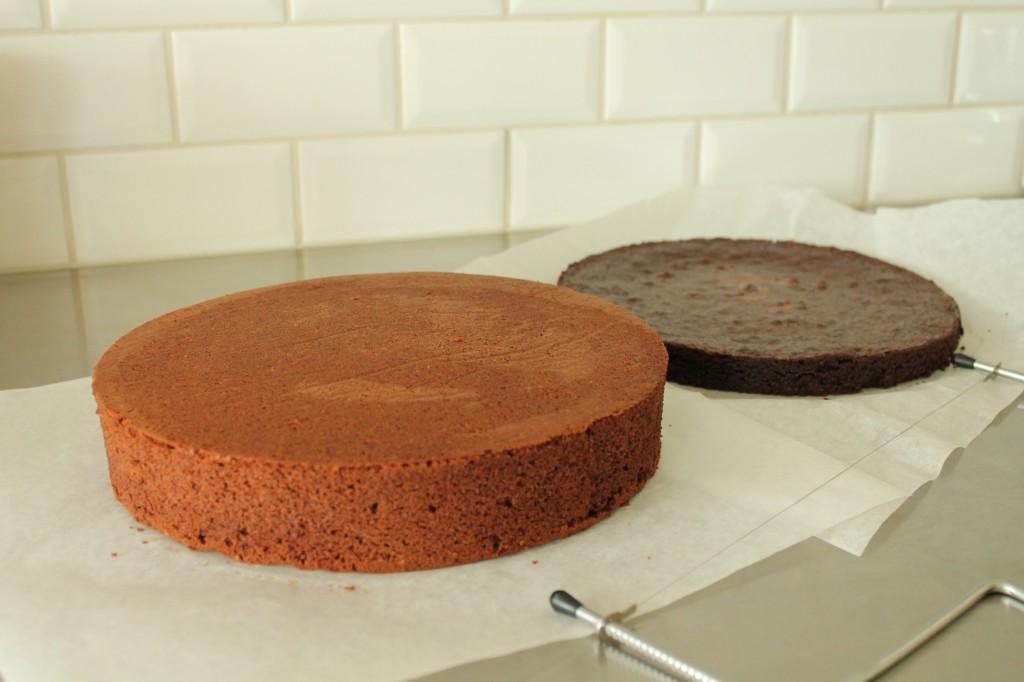 Chokladtårtbottnar