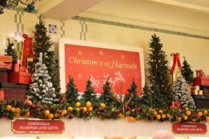 jul på harrods