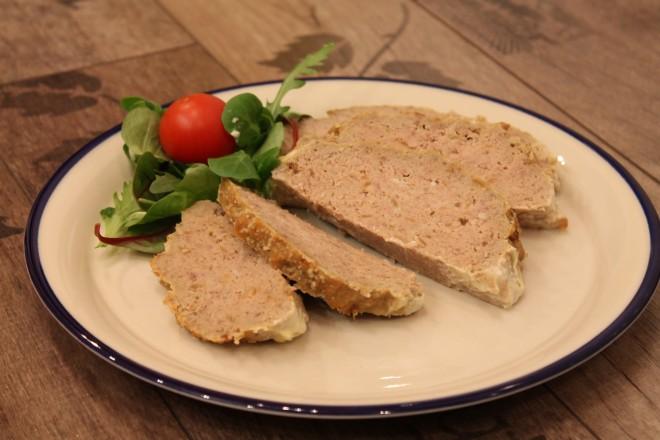 köttfärslimpa-fransk löksoppa