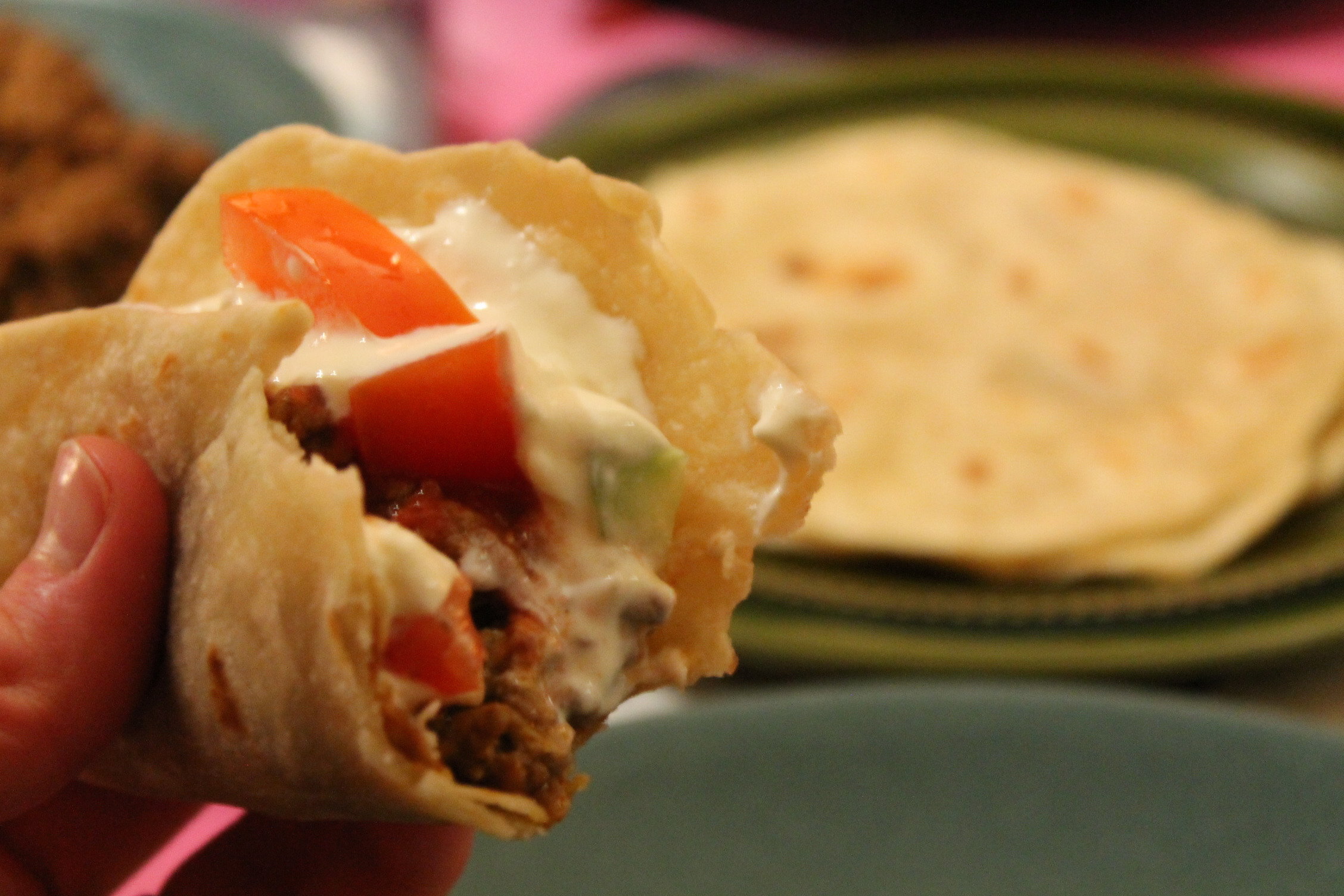 Tortillabröd-hembakta-taco-fredagsmys