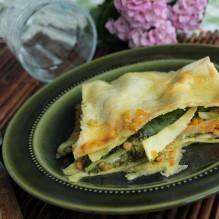 lasagne-vegetarisk-brieost-spenat-linser