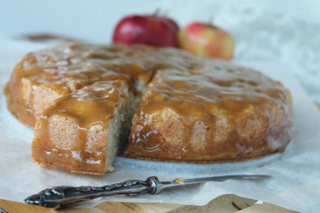 Faringlaserad äppelkaka