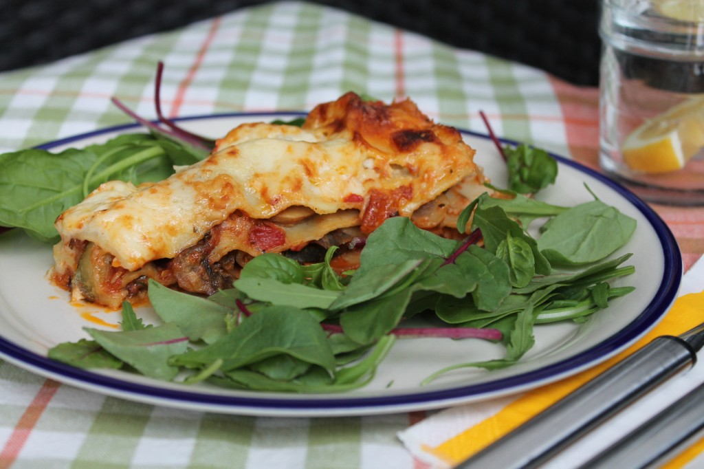 vegetarisk lasagne fetaost