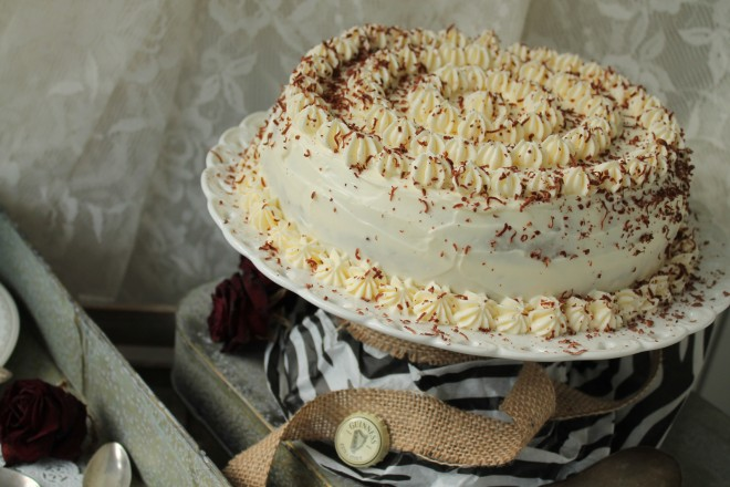 guinness chokladtårta frosting