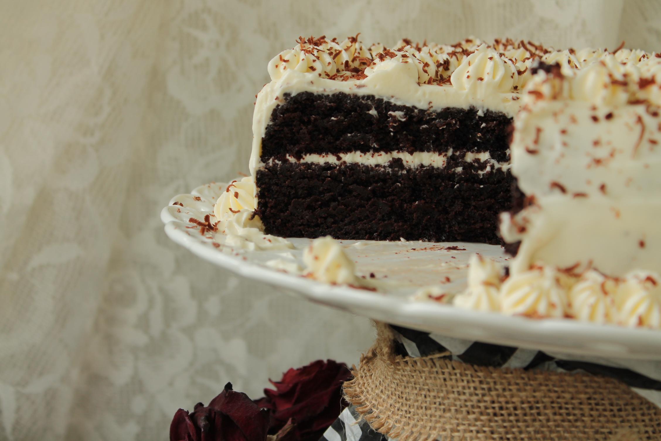 chokladtårta guinness
