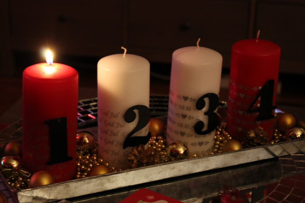 första advent bloggjulkalender