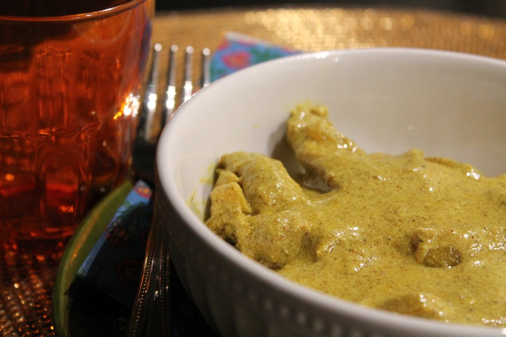 kycklinggryta indisk kryddig