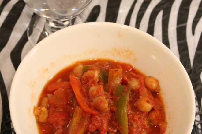 vegetarisk kikärtsgryta marockansk kikärtsgryta