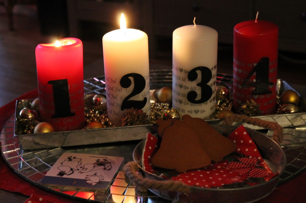 andra advent blogg julkalender