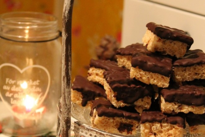 rice krispies choklad recept