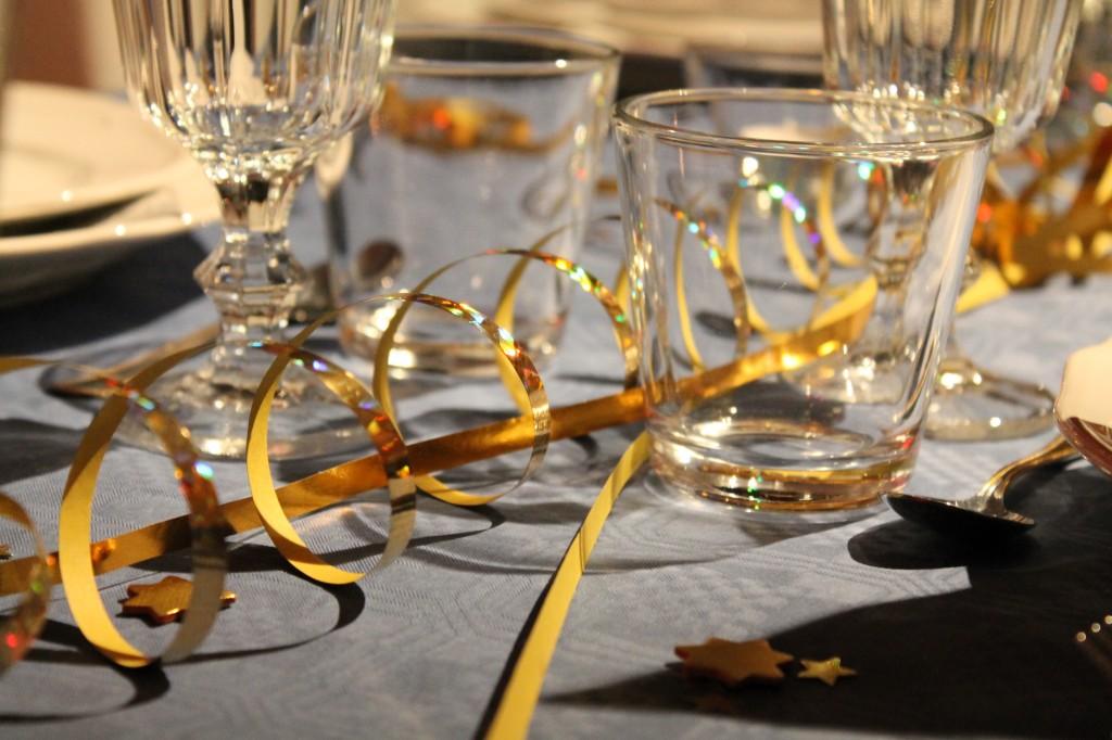nyårsafton dukat bord