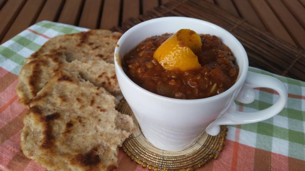 linsgryta från ghana vegetarisk
