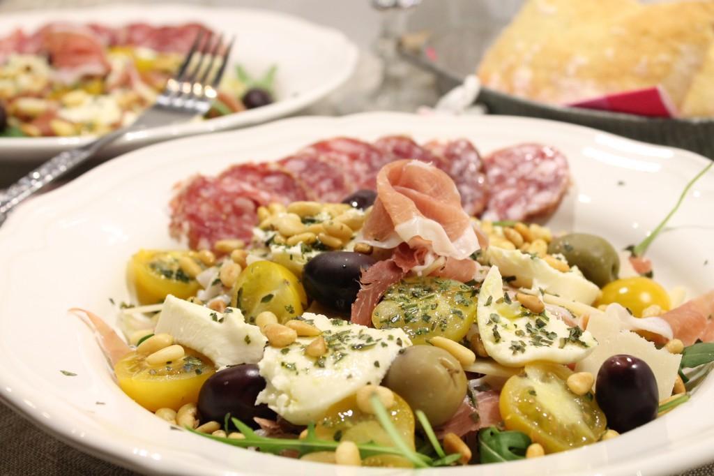 italiensk salladstallrik