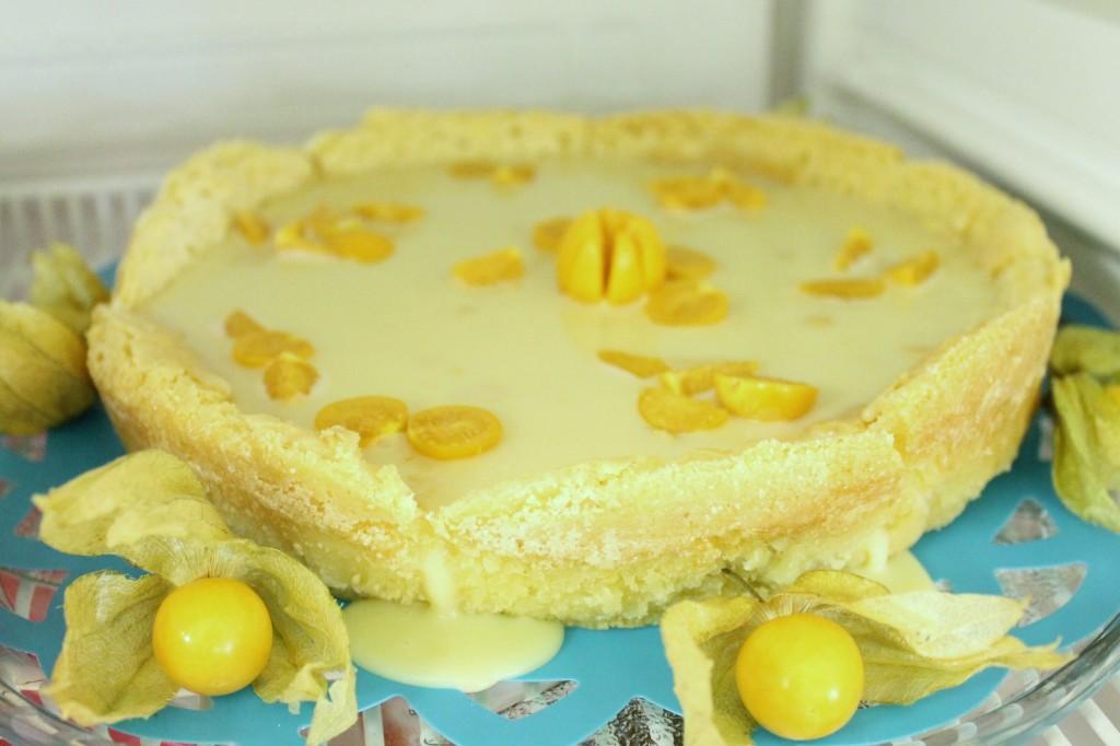 vit chokladtårta limoncello