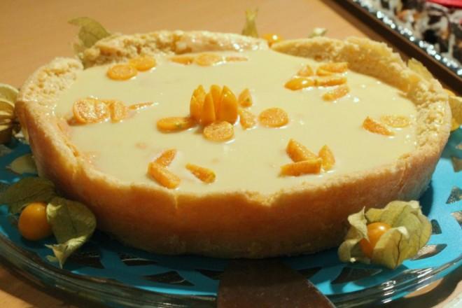 chokladtårta vit choklad limoncello