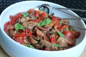 italiensk tomat- och brödsallad jamie oliver