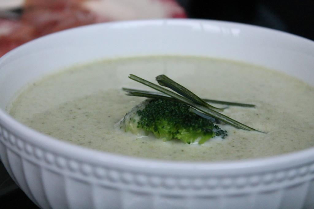 broccolisoppa purjolök fryst broccoli vitlök
