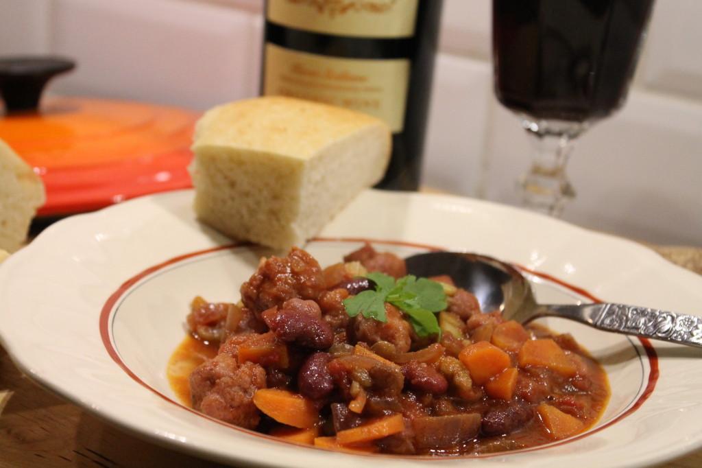 salsiccia italiensk gryta lättlagad korv