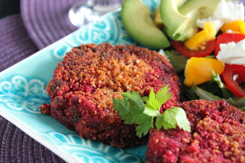 rödbetsbiffar vegetarisk lindströmsbiff vegetarisk biff á la lindström
