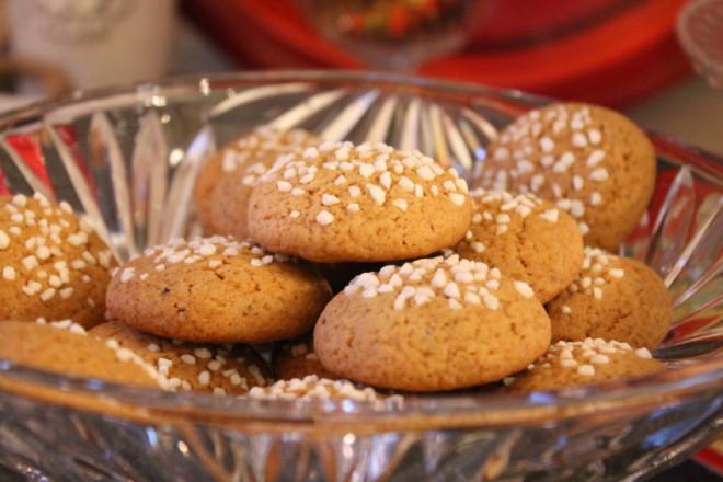 pepparnötter pärlsocker småkakor jul kardemumma