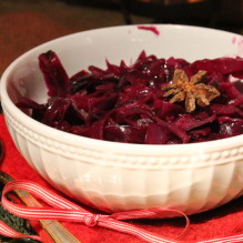 kryddig rödkål sirap kryddnejlika jul timjan