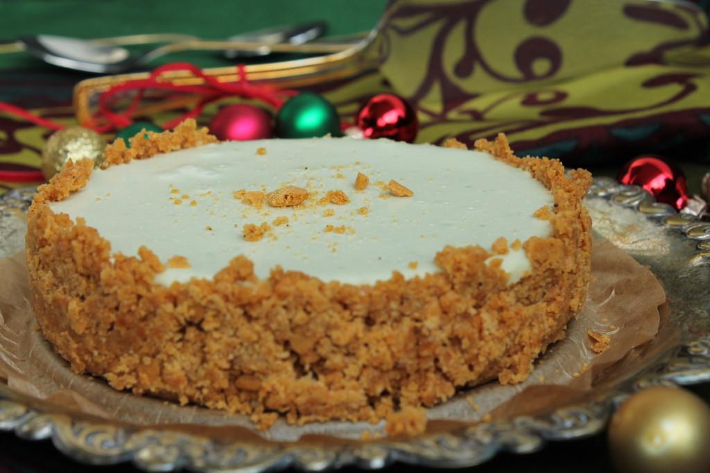 ädelost pepparkakor cheesecake