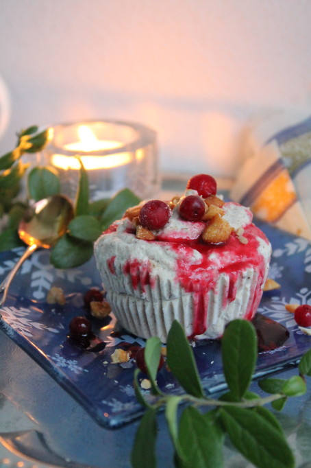 plommonparfait lingonsås dessert jul finlands självständighetsdag
