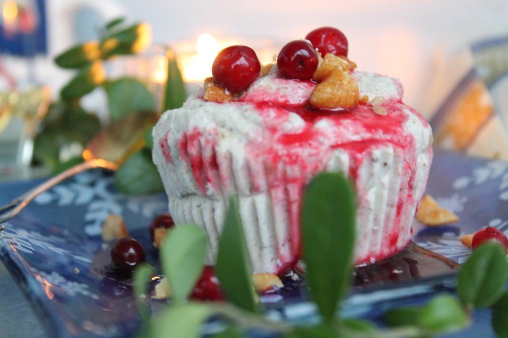 plommonparfait lingonsås dessert jul plommonmarmelad finlands självständighetsdag