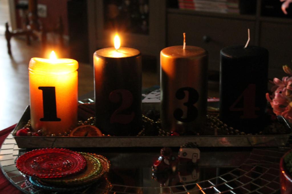 andra advent adventsljusstake