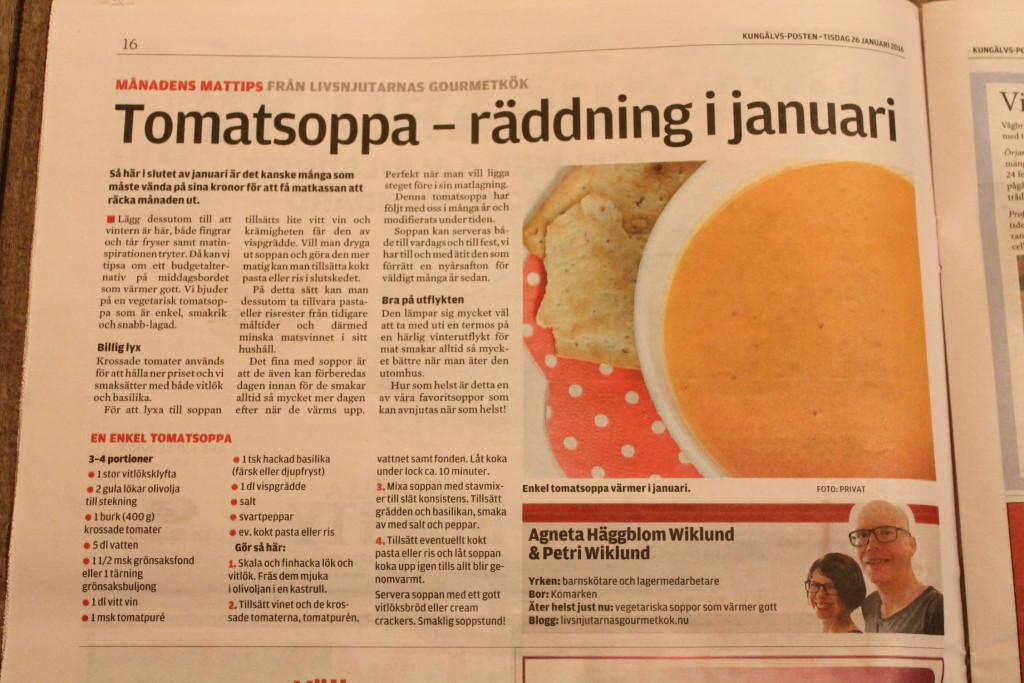 månadens mattips januari kungälvsposten