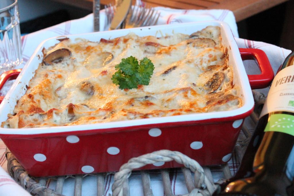 vincisgrassi lasagne marche italien tryffel parmaskinka svamp