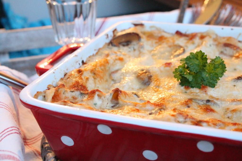vincisgrassi marche italien lasagne parmaskinka