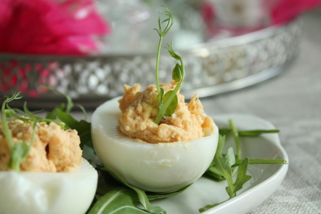 deviled eggs påsk fyllda ägg