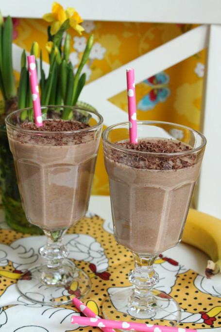 smoothie kakao kokosmjölk mango banan mjölkfri