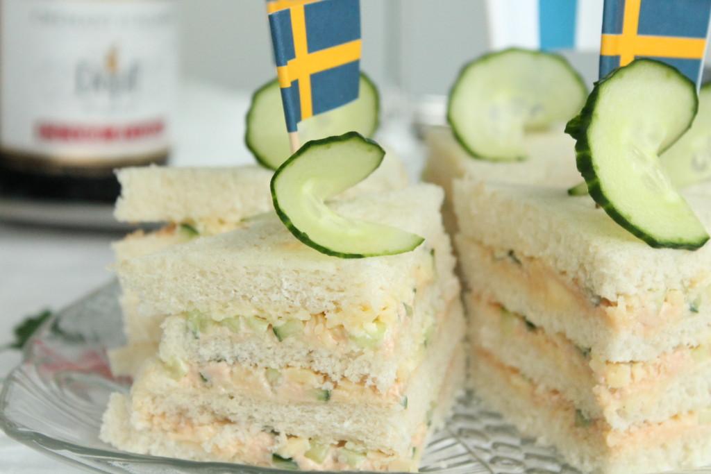 snittar formfranska västerbottensost tonfiskpastej gurka födelsedag munsbitar