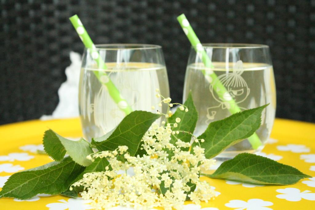 flädersaft fläderblomssaft fläder citron lime