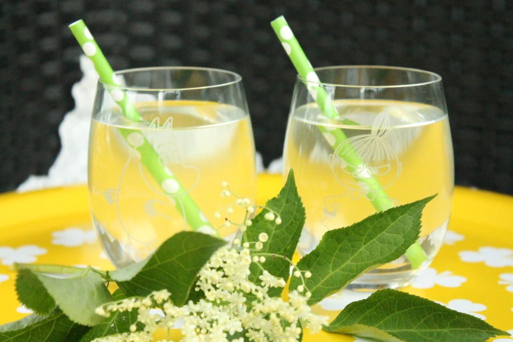 fläder flädersaft fläderblomssaft citron lime