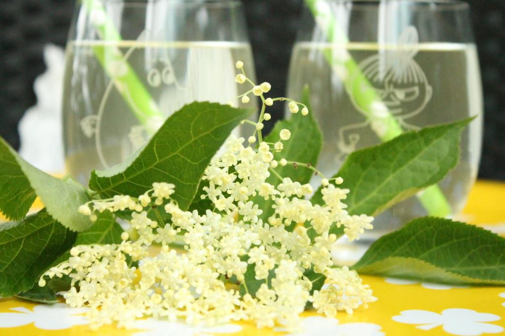fläderblomssaft fläder flädersaft citron lime
