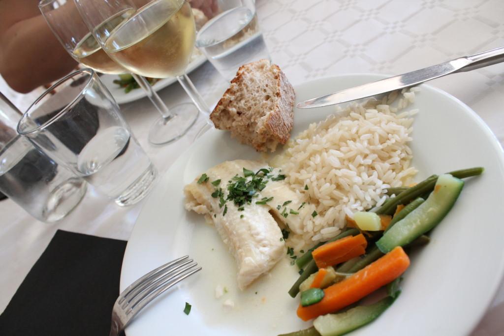torskrygg chablissås fransk mat