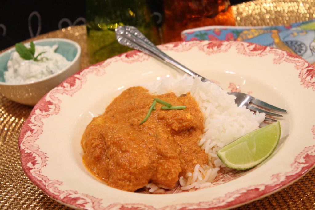 kyckling chicken tikka masala indisk kycklinggryta david batra raita mynta