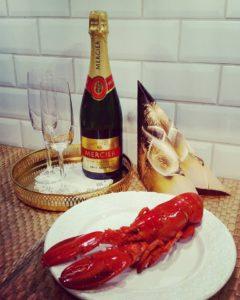 champagne mercier hummer